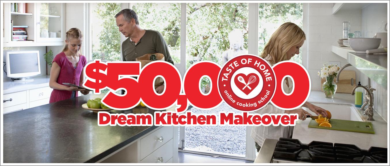 Taste of Home Cooking School - Dream Kitchen Giveaway